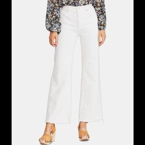 Free People High-Rise Flare-Leg Light Wash Jeans